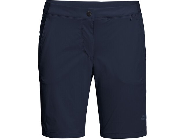 Jack Wolfskin Hilltop Trail Shorts Damen midnight blue